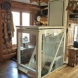 Photo by Extended Home Living Services (EHLS) & To The Top Home Elevators. Residential Through-Floor Style Elevator - thumbnail