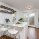 Photo by Bellweather Construction. Center City, Philadelphia: Trendy White Kitchen Remodel with Rustic Accents - thumbnail