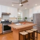 Photo by Bellweather Construction. Mt. Airy, Philadelphia: New Kitchen with Two-Toned Cabinets & Custom Island Top - thumbnail