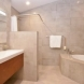 Photo by Talmadge Construction, Inc. Universal Design Bathroom with Modern Style - thumbnail