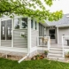 Photo by Degnan Design-Build-Remodel of Madison. 3-season porch with fireplace - thumbnail