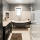 Photo by DreamMaker of Greater Grand Rapids. Beautiful Bathroom - thumbnail