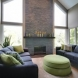 Photo by DreamMaker of Greater Grand Rapids. Relaxing Fireplace Addition - thumbnail