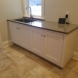 Photo by The Cabinet Maker, LLC. Mud room cabinet and solid hard maple countertop - thumbnail