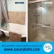 Photo by Luxury Bath Technologies By Renken Remodeling. Tub-to-shower conversion - thumbnail