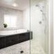 Photo by HC Remodel & Design. Soaking Tub Shower Room - thumbnail