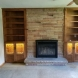 Photo by The Cabinet Maker, LLC. Custom stain glass bookcase - thumbnail