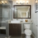 Photo by Landis Architects/Builders. Romanesque Revival Mosaic Floor Provides Color Inspiration for Bathroom Remodel - thumbnail