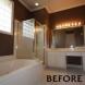 Photo by Hatfield Builders & Remodelers. Bush Master Bathroom - thumbnail