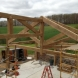 Photo by Lancaster County Timber Frames, Inc.. Timber Framed Pavilion - thumbnail