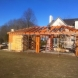 Photo by Lancaster County Timber Frames, Inc.. Timber Framed Poolhouse - thumbnail