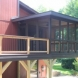 Photo by J&J Construction. Screen Porch & Deck - thumbnail