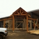 Photo by Lancaster County Timber Frames, Inc.. Timber Frame Entry -Hardware Store Location - thumbnail