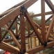 Photo by Lancaster County Timber Frames, Inc.. Timber Frame Dining and Entry for NJ - thumbnail