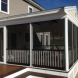 Photo by Professional Building Services. Custom Designed and Built Deck and 3 Season Room - thumbnail