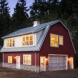 Photo by Henderer Design Build. The Love Nest Barn inspired Loft - thumbnail