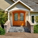 Photo by Henderer Design Build. White Exterior Remodel - thumbnail