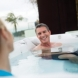 Photo by Arvidson Pools & Spas. Spa Gallery - thumbnail