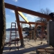 Photo by Lancaster County Timber Frames, Inc.. Park Services Pavilion - thumbnail
