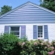 Photo by Custom Concepts Construction. James Hardie Lap Siding Boothbay Blue - thumbnail