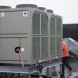 Photo by Bardi Mechanical. Bardi Mechanical Installs Large Chillers on Rooftops in Atlantic Station - thumbnail