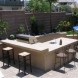 Photo by Paver Pros Plus. Patio-paver-fire pit-landscape-barbeque - thumbnail
