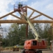 Photo by Lancaster County Timber Frames, Inc.. Sauder Store Entrys - thumbnail