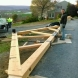 Photo by Lancaster County Timber Frames, Inc.. Mercersburg Residence - thumbnail