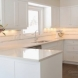 Photo by Marco Island Floor & Remodeling. White transitional kitchen with beverage center - thumbnail
