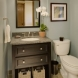 Photo by Klassen Remodeling & Design. Waukesha Powder Room - thumbnail