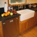 Photo by The Kitchen Crafter. Kitchen with farm-house sink - thumbnail