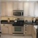 Photo by The Kitchen Crafter. Small kitchen, granite counters - thumbnail