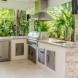 Photo by Habify. Miami Modern Outdoor Kitchen - thumbnail
