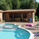 Photo by Bryhn Design/Build. Pool Cabanas - thumbnail