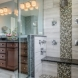 Photo by Synergy Builders. Transitional Master Bathroom Remodel - thumbnail