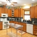 Photo by Houseworks Unlimited, Inc.. Custom Craftsman Style Kitchen - thumbnail