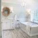Photo by Advance Design Studio, Ltd.. Farmhouse Master Bath in Barrington Hills - thumbnail
