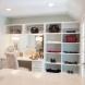 Photo by Advance Design Studio, Ltd.. Fabulous Farmhouse Closet in Barrington Hills - thumbnail