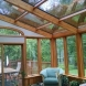 Photo by Hudson Valley Sunrooms. System 8 Straight Eve Design (Wood Interior) - thumbnail